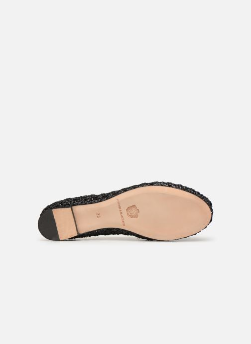 Ballet pumps Melvin & Hamilton KATE 5 Black view from above