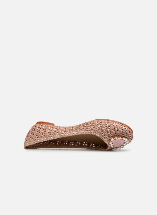 Ballet pumps Melvin & Hamilton KATE 5 Pink view from the left