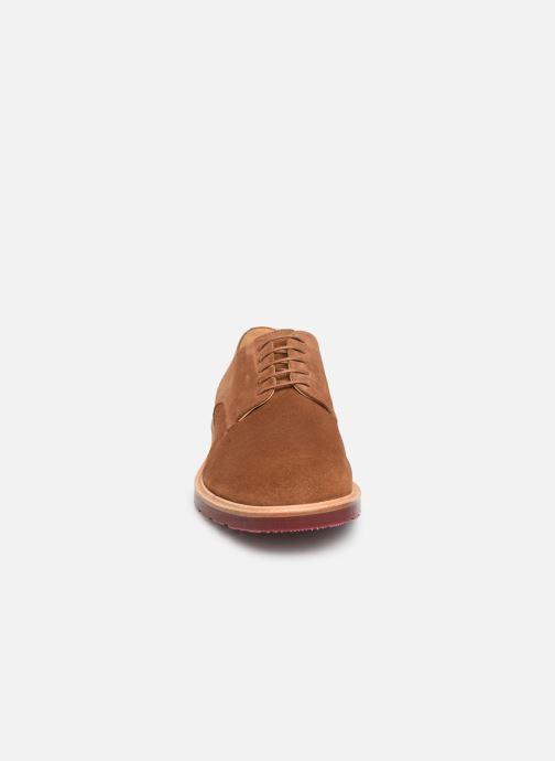 Chaussures à lacets PS Paul Smith Doogie Marron vue portées chaussures
