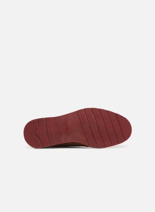Chaussures à lacets PS Paul Smith Doogie Marron vue haut