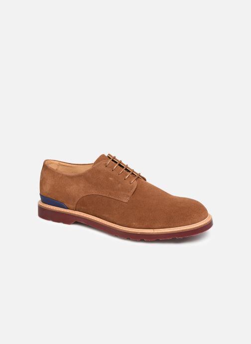 Chaussures à lacets PS Paul Smith Doogie Marron vue détail/paire