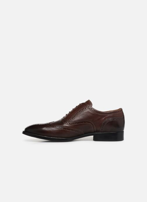 Chaussures à lacets PS Paul Smith Marti Marron vue face