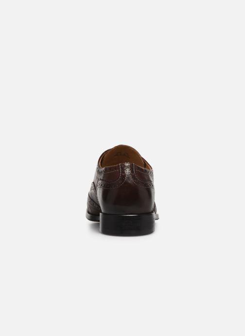 Chaussures à lacets PS Paul Smith Marti Marron vue droite