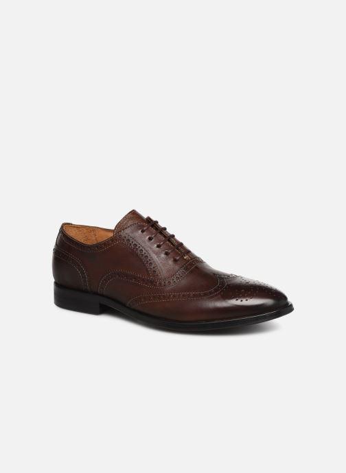 Chaussures à lacets PS Paul Smith Marti Marron vue détail/paire