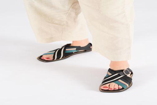 Sandales et nu-pieds PS Paul Smith Arrow Noir vue bas / vue portée sac