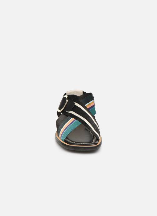 Sandales et nu-pieds PS Paul Smith Arrow Noir vue portées chaussures