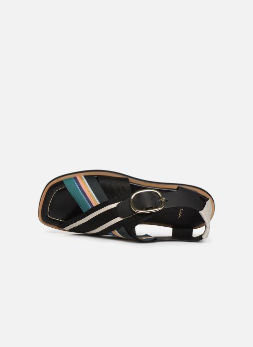 Sandales et nu-pieds PS Paul Smith Arrow Noir vue gauche