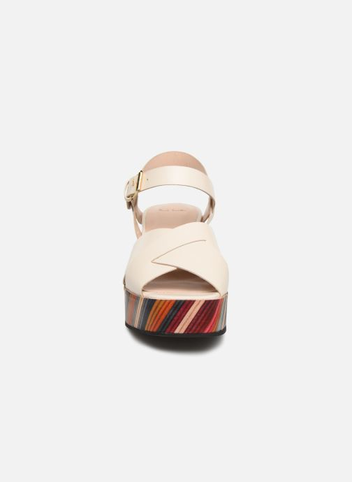 Sandales et nu-pieds PS Paul Smith Marcia Blanc vue portées chaussures