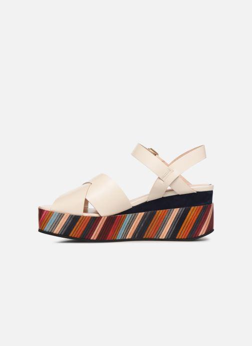 Sandales et nu-pieds PS Paul Smith Marcia Blanc vue face