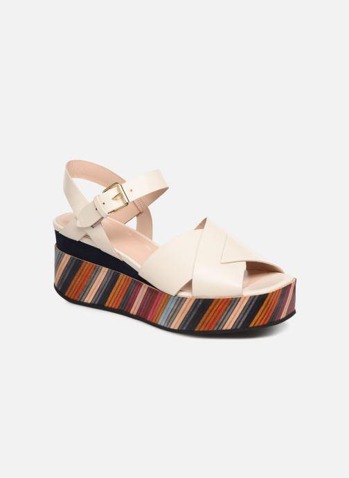 Sandales et nu-pieds PS Paul Smith Marcia Blanc vue détail/paire
