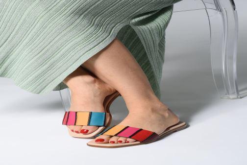 Clogs & Pantoletten PS Paul Smith Safia mehrfarbig ansicht von unten / tasche getragen