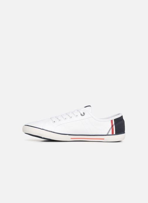 Sneaker Pepe jeans Aberman Print weiß ansicht von vorne