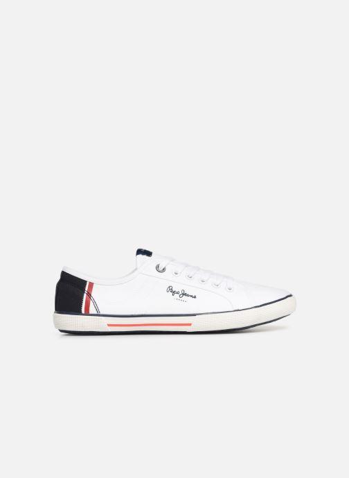 Sneaker Pepe jeans Aberman Print weiß ansicht von hinten