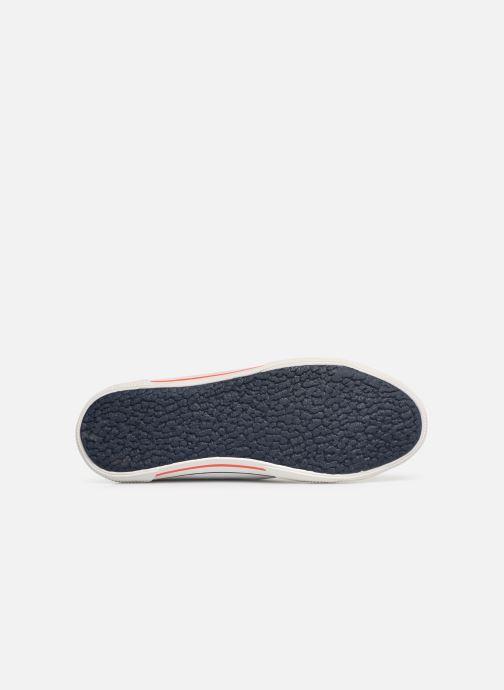 Baskets Pepe jeans Aberman Print Blanc vue haut