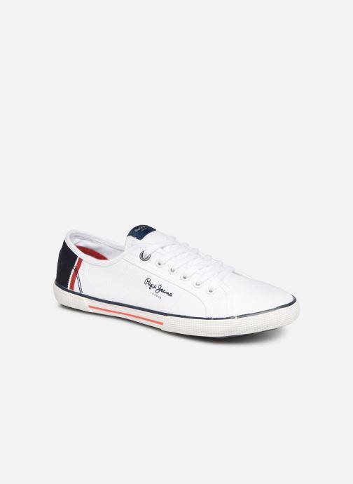 Sneaker Pepe jeans Aberman Print weiß detaillierte ansicht/modell