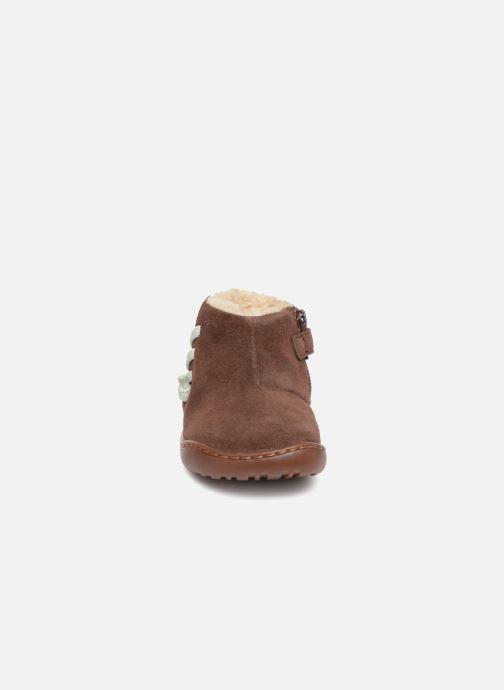 Bottines et boots Camper Peu Cami FW K900111 Marron vue portées chaussures