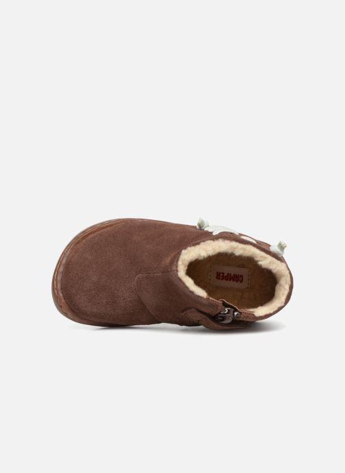 Boots en enkellaarsjes Camper Peu Cami FW K900111 Bruin links