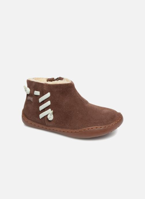 Boots en enkellaarsjes Camper Peu Cami FW K900111 Bruin detail