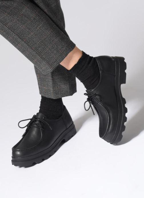Chaussures à lacets Camper 1980 Marron vue bas / vue portée sac