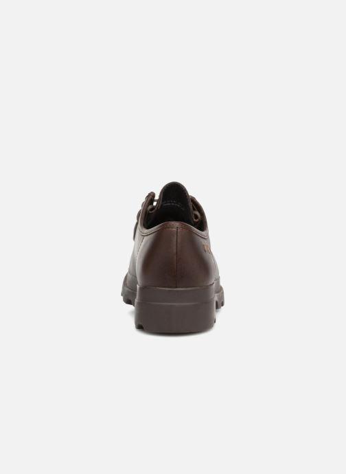 Chaussures à lacets Camper 1980 Marron vue droite