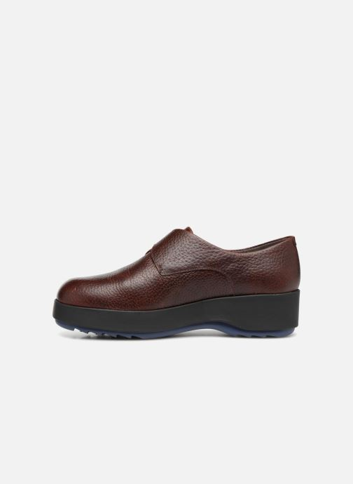 Loafers Camper Dessa 22095 Burgundy front view
