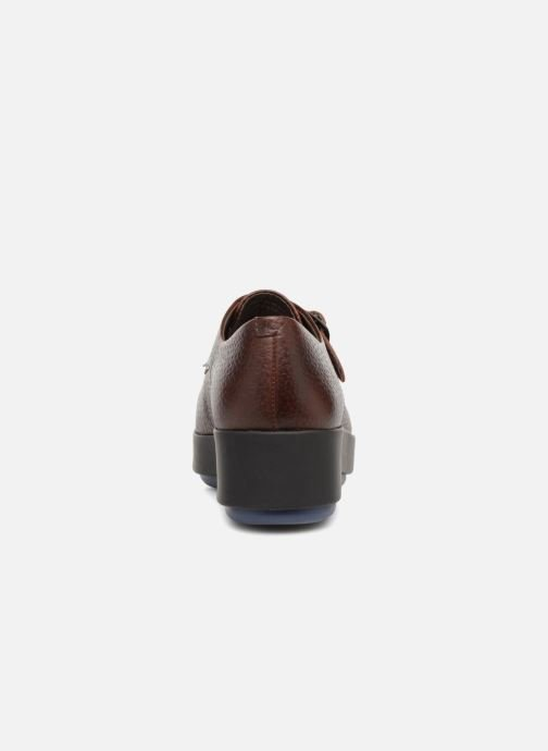 Loafers Camper Dessa 22095 Burgundy view from the right