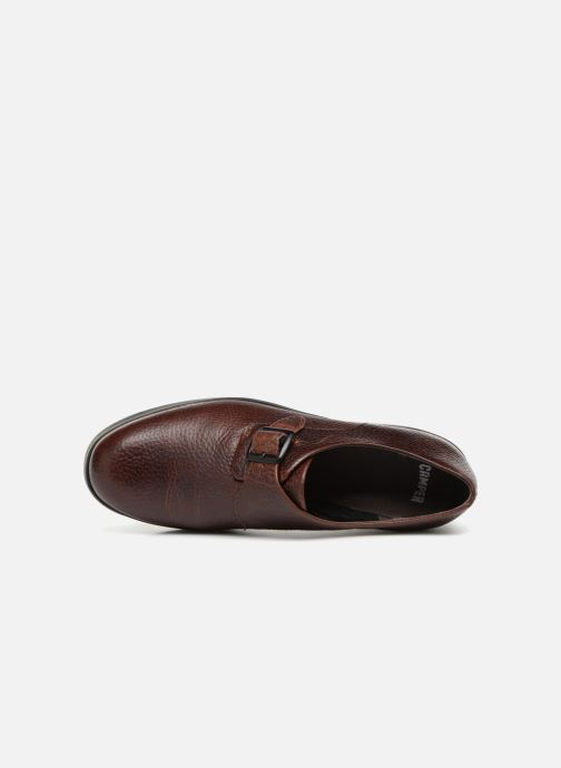 Loafers Camper Dessa 22095 Burgundy view from the left