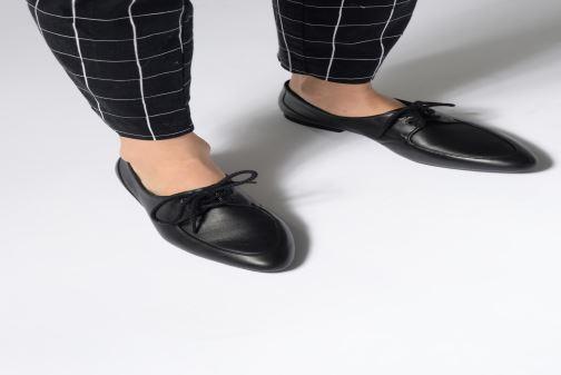Zapatos con cordones Camper Isadora 22564 Negro vista de abajo