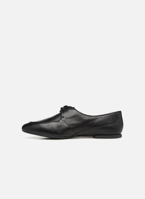 Zapatos con cordones Camper Isadora 22564 Negro vista de frente