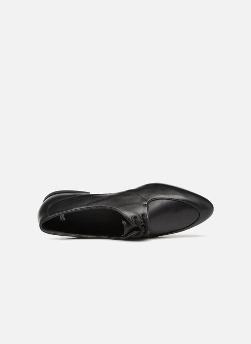 Zapatos con cordones Camper Isadora 22564 Negro vista lateral izquierda