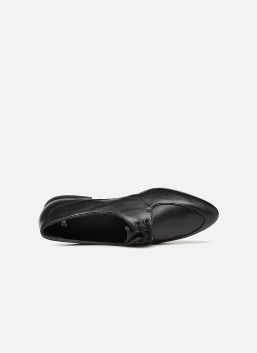 Chaussures à lacets Camper Isadora 22564 Noir vue gauche