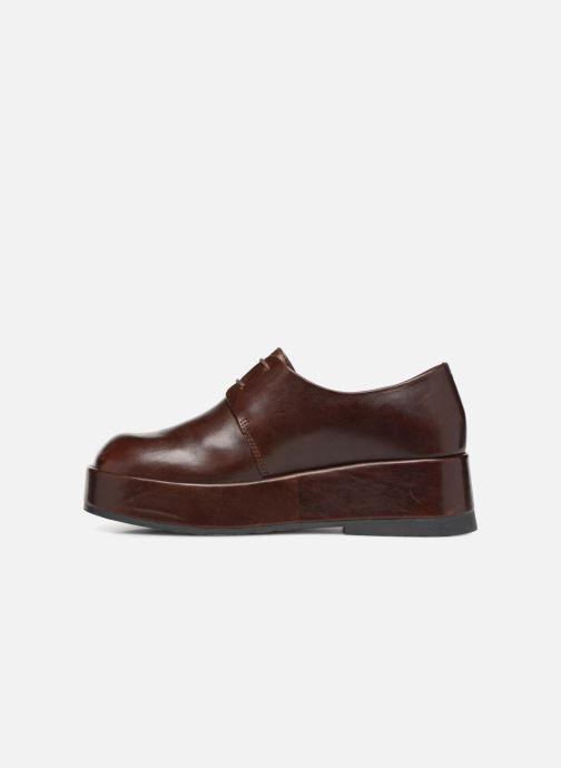 Chaussures à lacets Camper Wilma K200496 Marron vue face