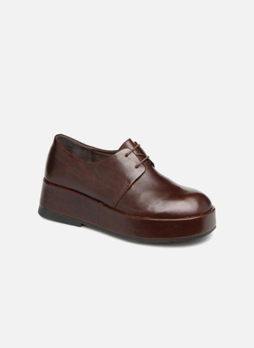 Chaussures à lacets Camper Wilma K200496 Marron vue détail/paire