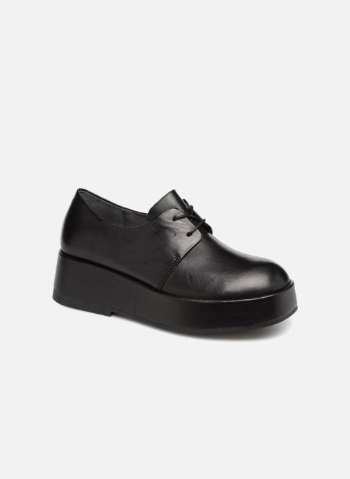 Chaussures à lacets Camper Wilma K200496 Noir vue détail/paire