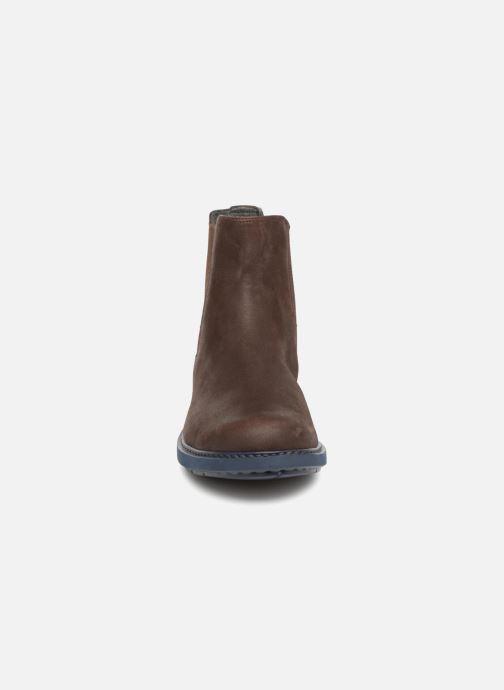 Bottines et boots Camper Neuman K300170 Marron vue portées chaussures