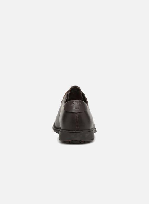Scarpe con lacci Camper 1913 18552 Marrone immagine destra