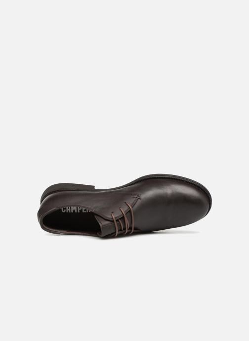 Scarpe con lacci Camper 1913 18552 Marrone immagine sinistra