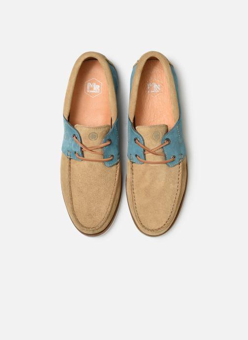 Zapatos con cordones Mr SARENZA Sbatello Marrón vista del modelo