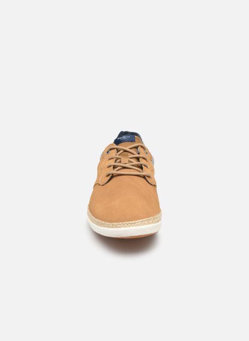 Baskets Pepe jeans Maui Ker Marron vue portées chaussures
