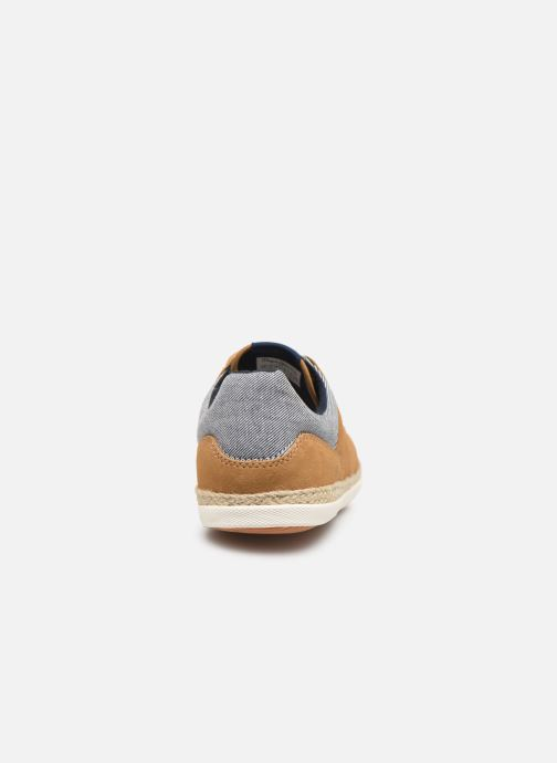 Trainers Pepe jeans Maui Ker Brown view from the right