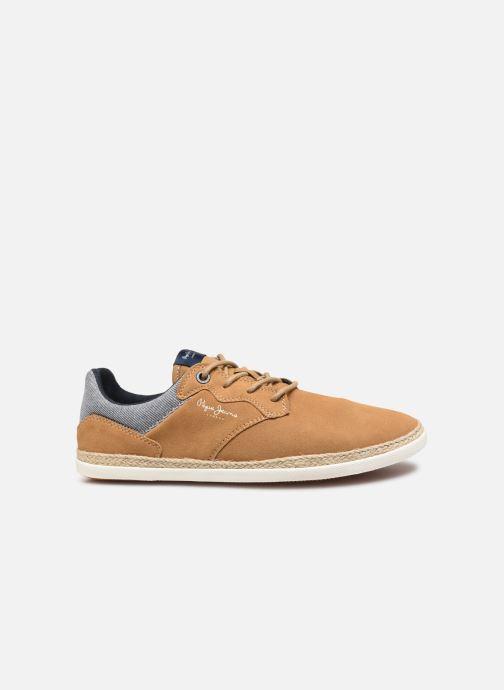 Sneakers Pepe jeans Maui Ker Bruin achterkant