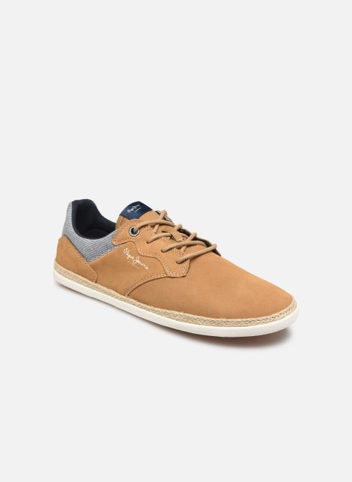 Trainers Pepe jeans Maui Ker Brown detailed view/ Pair view