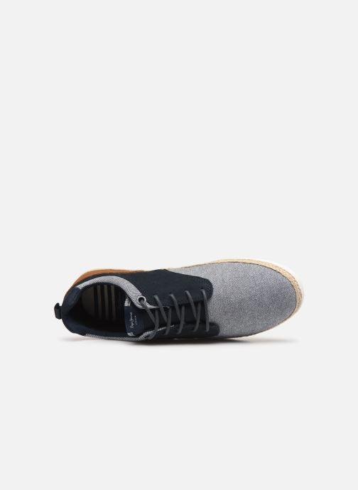 Baskets Pepe jeans Maui Jay Bleu vue gauche