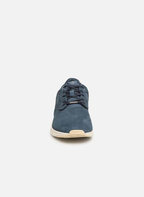 Baskets Pepe jeans Jayker Dual D-Limit 19 Bleu vue portées chaussures
