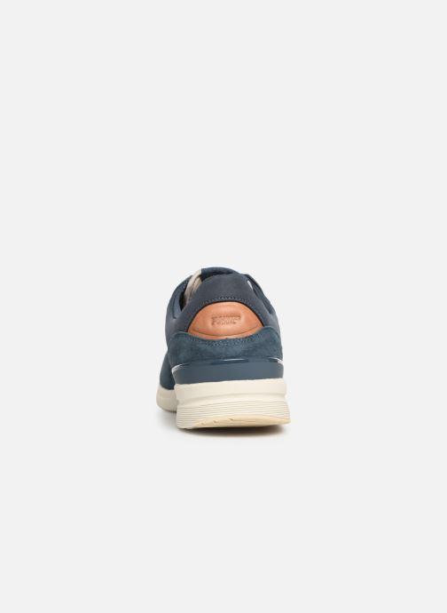 Sneaker Pepe jeans Jayker Dual D-Limit 19 blau ansicht von rechts