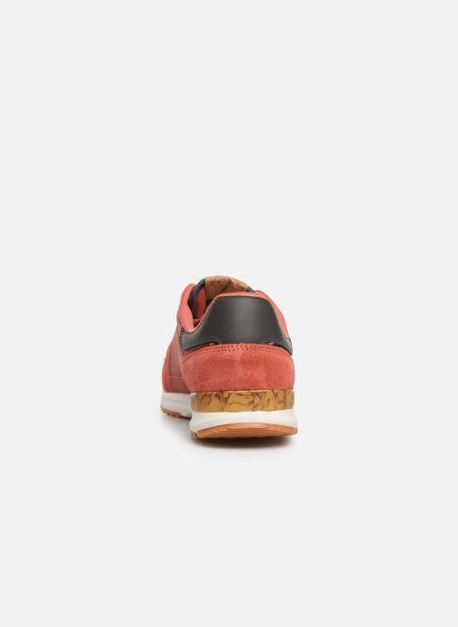 Sneaker Pepe jeans Tinker Pro Premiun rot ansicht von rechts