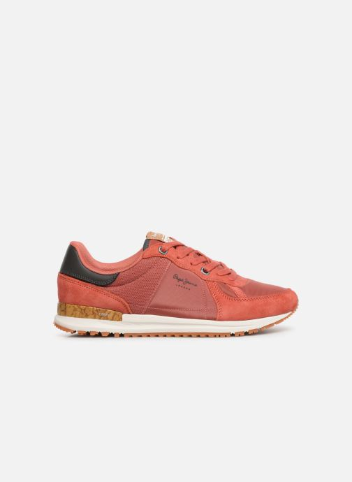 Trainers Pepe jeans Tinker Pro Premiun Red back view