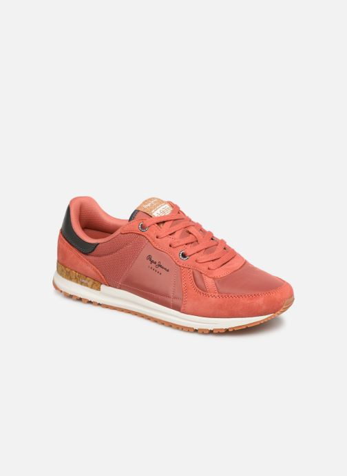 Trainers Pepe jeans Tinker Pro Premiun Red detailed view/ Pair view