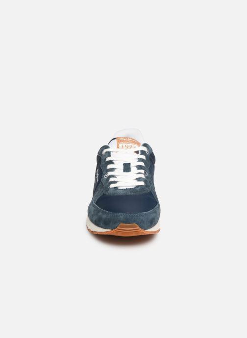 Baskets Pepe jeans Tinker Pro Premiun Bleu vue portées chaussures