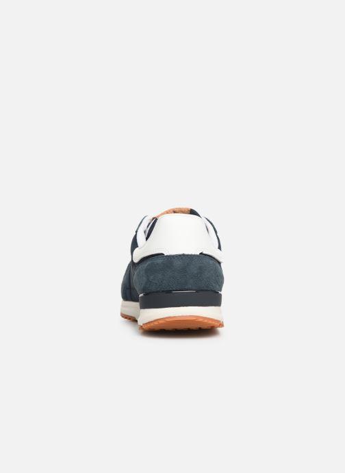Baskets Pepe jeans Tinker Pro Premiun Bleu vue droite